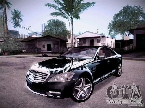 Mercedes-Benz S65 AMG 2011 for GTA San Andreas
