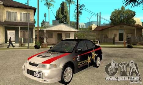 Mitsubishi Lancer Evo VI Tune for GTA San Andreas