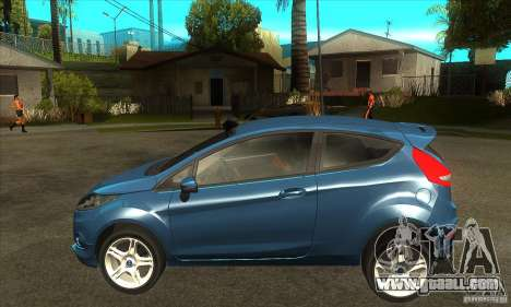 Ford Fiesta Zetec S 2009 for GTA San Andreas left view