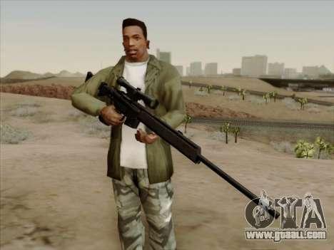 HK PSG 1 for GTA San Andreas second screenshot