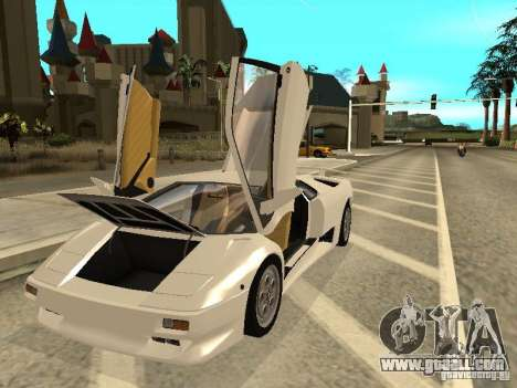 Lamborghini Diablo VT 1995 V2.0 for GTA San Andreas side view