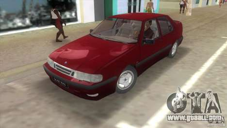 SAAB 9000 Anniversary v1.0 for GTA Vice City left view