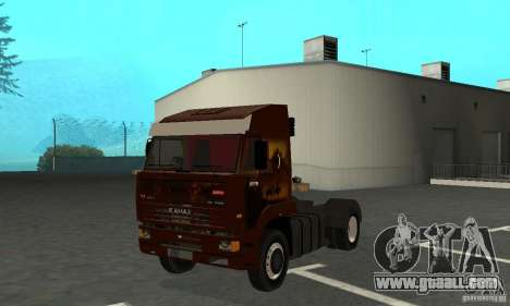KAMAZ 5460 4 Skin for GTA San Andreas left view