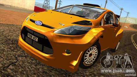 Ford Fiesta Rally for GTA San Andreas