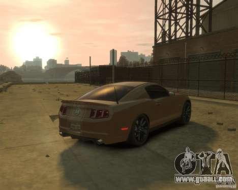 2011 Shelby GT500 Super Snake for GTA 4 back left view