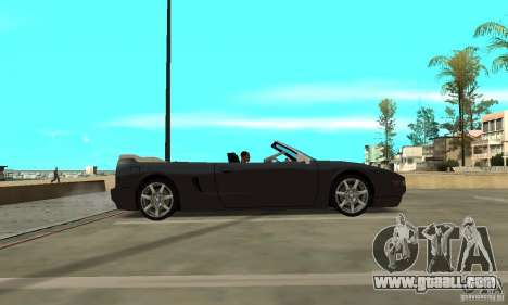 New InFernus for GTA San Andreas back left view