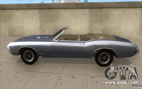 Buick Riviera GS 1969 for GTA San Andreas left view