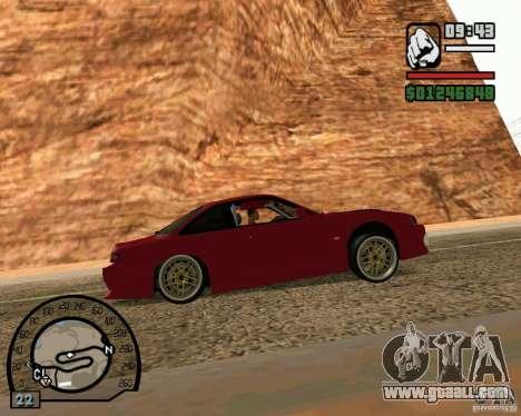 Nissan Silvia S14 DoRiftar for GTA San Andreas back left view