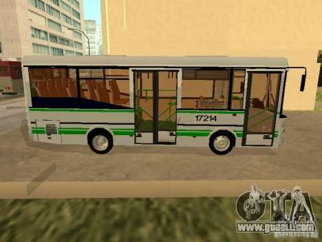 GROOVE 3237 for GTA San Andreas back left view