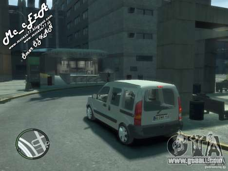 Renault Kangoo 2007 for GTA 4 bottom view
