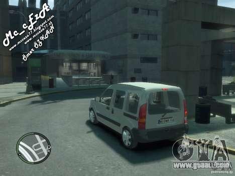 Renault Kangoo 2007 for GTA 4 bottom view