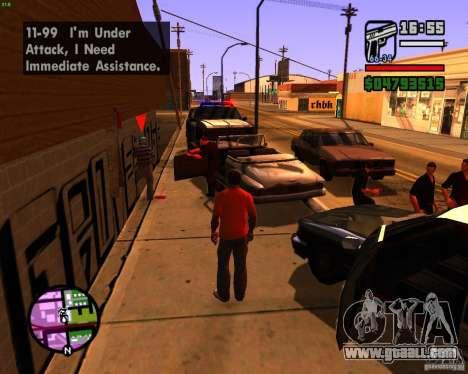 Chasing machines for GTA San Andreas third screenshot