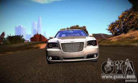 Chrysler 300c for GTA San Andreas back left view