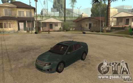 Ford Fusion 2010 for GTA San Andreas