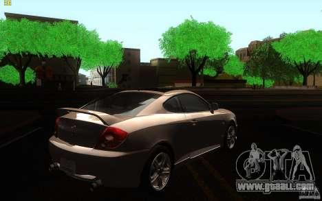 Hyundai Tiburon V6 Coupe 2003 for GTA San Andreas right view