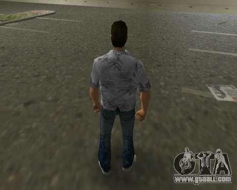 Grey shirt for GTA Vice City third screenshot