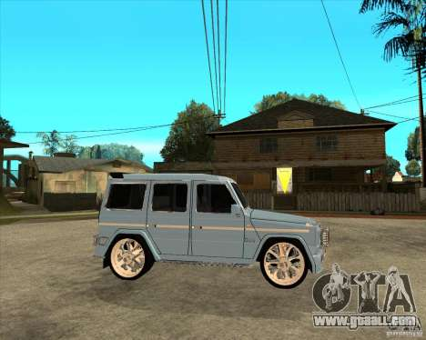 Mercedes Benz G 500 Brabus - Dub Edition for GTA San Andreas right view