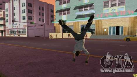 Cleo Parkour v4 for GTA Vice City