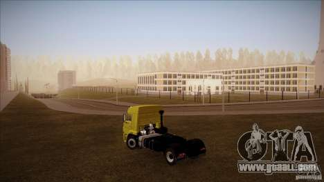 KAMAZ 5460 Restyling for GTA San Andreas left view