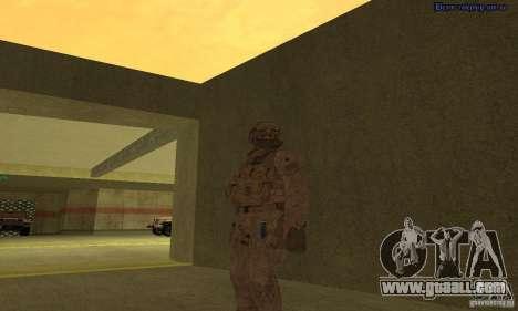 Skin Marine for GTA San Andreas second screenshot