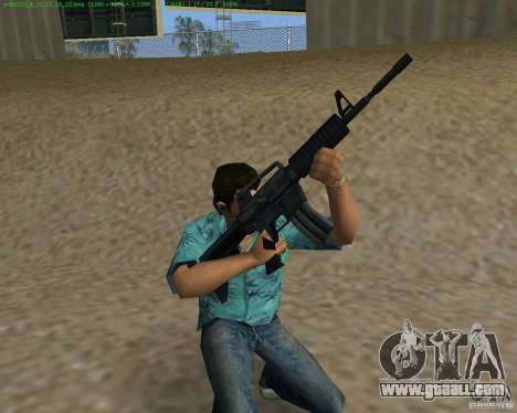 M4 from Counter Strike Source for GTA Vice City third screenshot