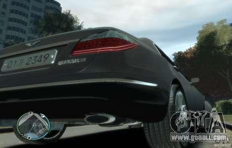 Hyundai Genesis Sedan Elite for GTA 4 right view