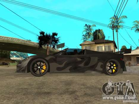 Porsche Carera GT Tuned for GTA San Andreas left view