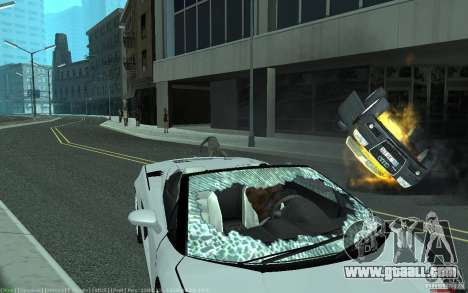 Realistic accident for GTA San Andreas
