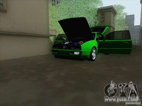 Volkswagen Corrado 1995 for GTA San Andreas engine