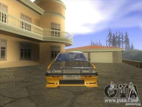 Mazda 626 DRIFT for GTA San Andreas back view