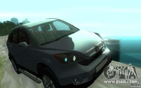 Honda CR-V for GTA San Andreas side view