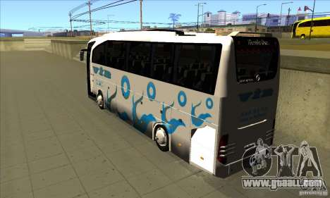 Mercedes-Benz Travego 15 SHD for GTA San Andreas back left view
