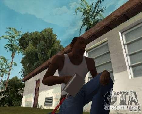 Defibrillator for GTA San Andreas