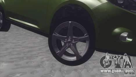 Ford Focus sedan for GTA San Andreas right view