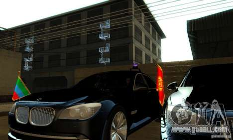 BMW 750Li for GTA San Andreas right view