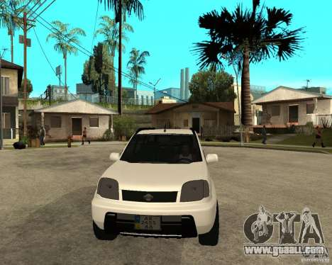 NISSAN X-TRAIL 2001 for GTA San Andreas back view