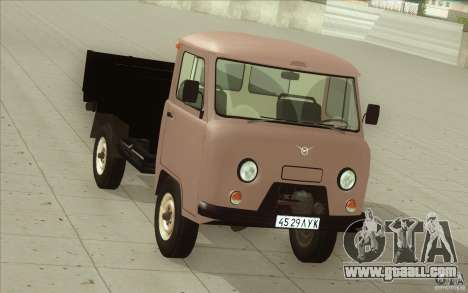 UAZ-3303 for GTA San Andreas inner view
