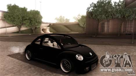 Volkswagen Beetle RSi Tuned for GTA San Andreas wheels
