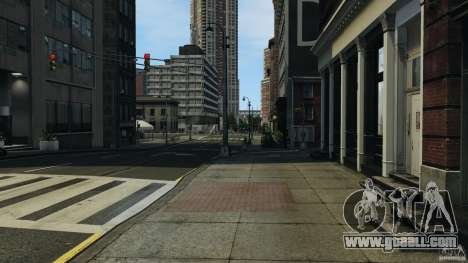 Empty city for GTA 4 third screenshot