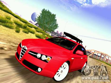 Alfa Romeo 159 Sportwagon for GTA San Andreas