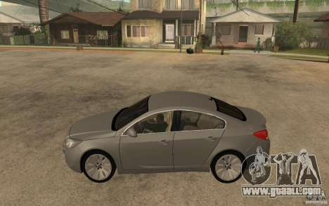 Opel Insignia 2010 for GTA San Andreas left view