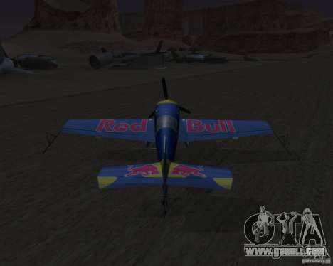 Extra 300L Red Bull for GTA San Andreas back view