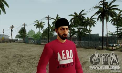 Skin substitute Bmyst for GTA San Andreas