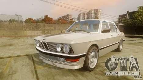 BMW 5-Series E28 for GTA 4