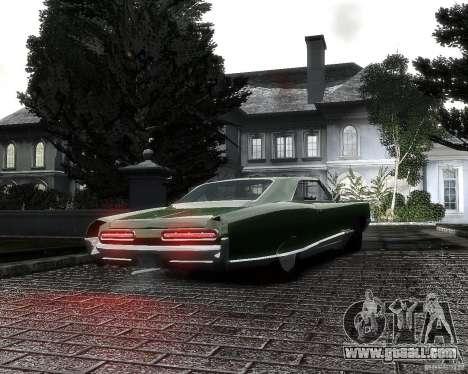 Pontiac Bonneville 1966 for GTA 4 back left view