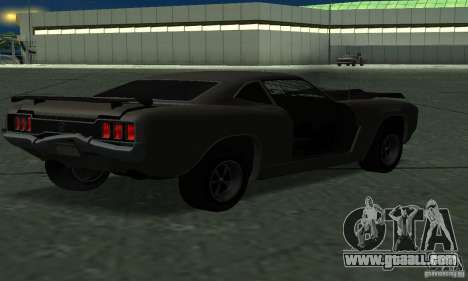 Hunter Cavalry of Burnout Paradise for GTA San Andreas left view