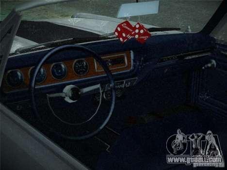 Pontiac GTO 1965 for GTA San Andreas side view