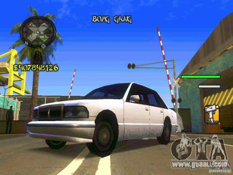 HUD Convenient and easy BETA for GTA San Andreas