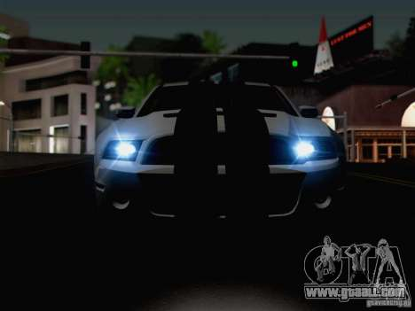 New Car Lights Effect for GTA San Andreas sixth screenshot
