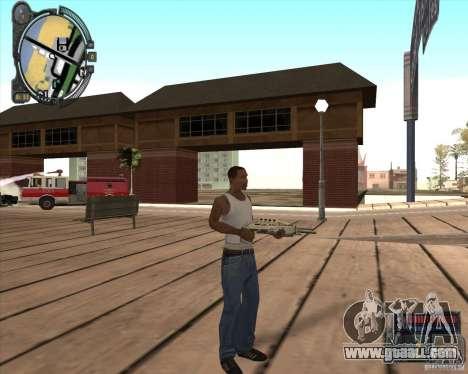 S.T.A.L.K.E.R. Call of Pripyat HUD for SA v1.0 for GTA San Andreas ninth screenshot